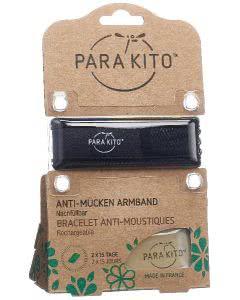 Parakito Armband Mückenschutz schwarz
