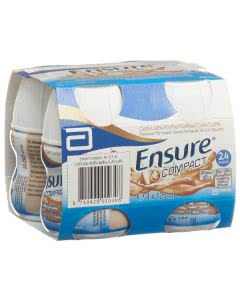 Ensure Compact 2.4 kcal Drink Kaffee - 4 x 125ml