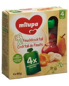 Milupa Fruchtcocktail - 4 x 90g