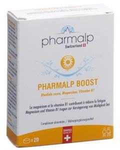 Pharmalp Boost Tabletten Blist - 20 Stk.