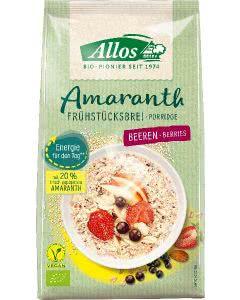 Allos Amaranth Frühstücksbrei Beeren - 400g