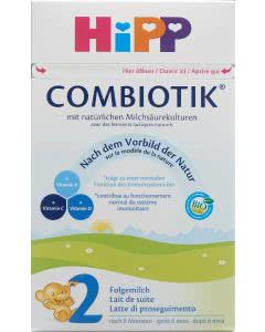 Hipp 2 bio Combiotik Folgemilch ab 6 Mt. - 800g