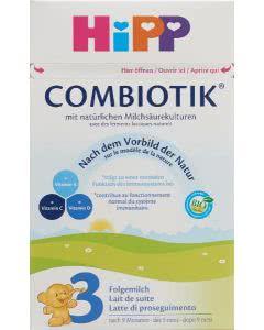 Hipp 3 bio Combiotik Folgemilch ab 10 Mt. - 800g