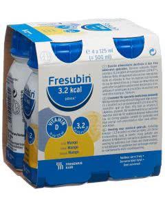 Fresubin 3.2 kcal Drink Mango 4 x 125ml