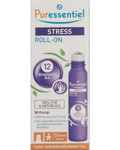 Puressentiel Stress Roll-On mit 12 ätherischen Ölen - 5ml