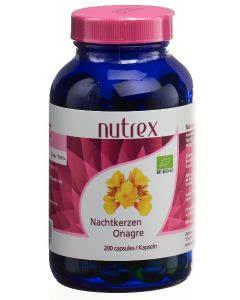 Nutrex Nachtkerzenöl Kapseln 500 mg Bio - 200 Stk.