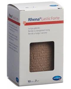 Rhena Lastic Forte 10cmx7m hautfarbig