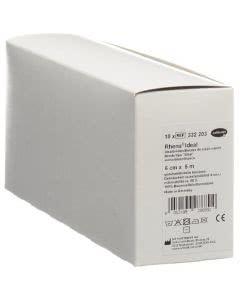 Rhena Ideal Elastische Binde 6cmx5m weiss - 10 Stk.