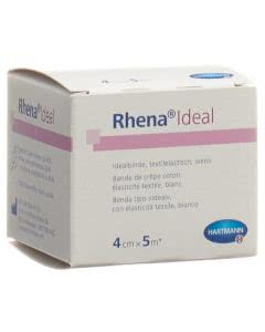 Rhena Ideal Elastische Binde 4cmx5m weiss