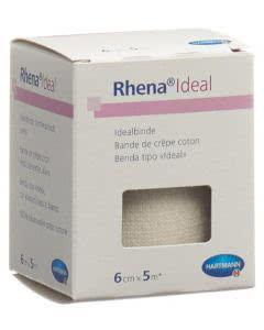 Rhena Ideal Elastische Binde 6cmx5m weiss