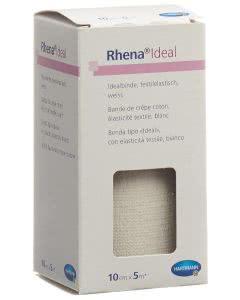 Rhena Ideal Elastische Binde 10cmx5m weiss - 1 Stk.