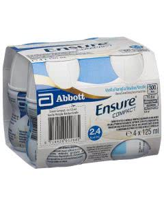 Ensure Compact 2.4 kcal Drink Vanille - 4 x 125ml