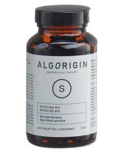 Algorigin Spirulina Tabletten Bio Flasche - 240 Stk.