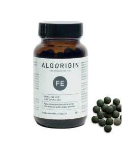 Algorigin Eisen Spirulina Tabletten Flasche - 120 Stk.