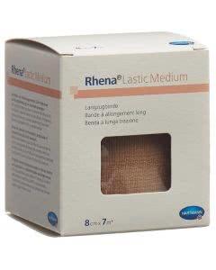 Rhena Lastic Medium 8cmx7m hautfarbig - 10 Stk.