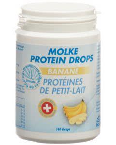Biosana Molke Protein Drops Banane - 140 Stk.