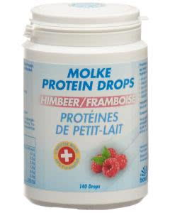 Biosana Molke Protein Drops Himbeer - 140 Stk.