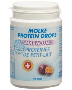 Biosana Molke Protein Drops Maracuja - 140 Stk.