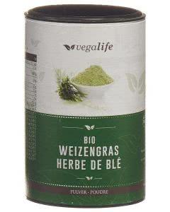 Vegalife Weizengras Pulver Dose - 125g
