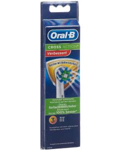 Oral-B Aufsteckbürsten CrossAction Bakterien - 3 Stk.