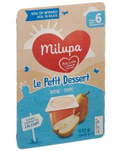 Milupa le Petit Dessert Birne - 6 x 55g