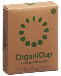 OrganiCup Menstruationstasse Grösse B