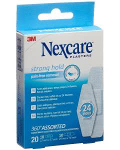 3M Nexcare Strong Hold 360° 2 Grössen ass - 20 Stk.