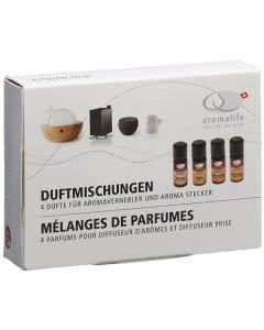 Aromalife Duftset Duftmischungen - 4x10ml