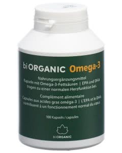 Biorganic Omega-3 Kaps F/D Dose - 100 Stk.
