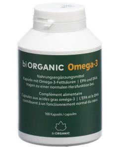 Biorganic Omega-3 Kaps I/D Dose - 100 Stk.