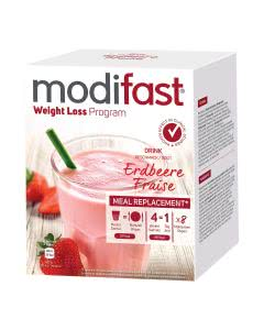 Modifast Programm Drink Erdbeere - 8 Portionen
