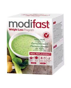 Modifast Programm Suppe Kartoffel / Lauch - 8 x 55g
