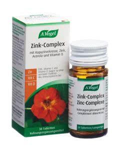 A. Vogel Zink-Complex mit Kapuzinerkresse - 30 Tabl.