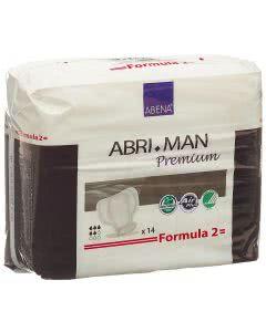 Abri Man Formula 2 Herreninkontinenz-Einlage 22-30cm - 14 Stk.