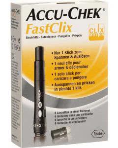 ACCU-CHEK FASTCLIX Kit + 6 Lanzetten - 1 Stk.