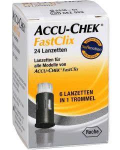 ACCU-CHEK FASTCLIX Lanzetten - 4 x 6 Stk.