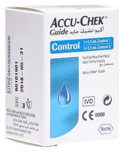 ACCU-CHEK GUIDE Control - 2 x 2.5 ml