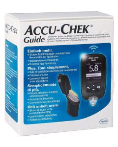ACCU-CHEK GUIDE Kit mmol/L, inkl. 1 x 10 Tests - 1 Stk.