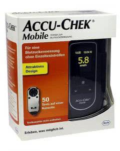 ACCU-CHEK MOBILE Set mmol/L - 1 Stk.