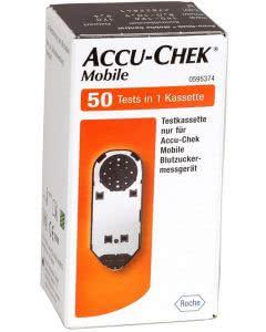 ACCU-CHEK MOBILE Tests - 50 Stk.