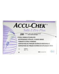 ACCU-CHEK SAFE-T-PRO PLUS Einmalstechhilfe - 200 Stk.