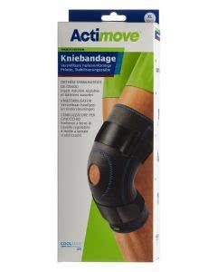Actimove Sport Kniebandage Verstellbare Pelotte + Stabilisierungsstäbe - Grösse XL