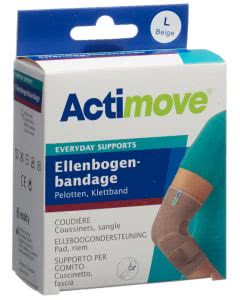 Actimove Everyday Support Ellenbogenbandage L Klettband