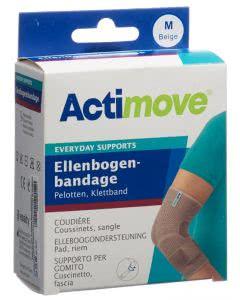 Actimove Everyday Support Ellenbogenbandage M Klettband