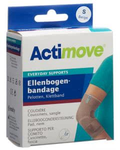 Actimove Everyday Support Ellenbogenbandage S Klettband