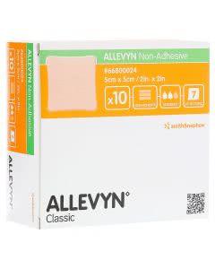 Allevyn Non-Adhesive 5 x 5cm - 3 Stk.