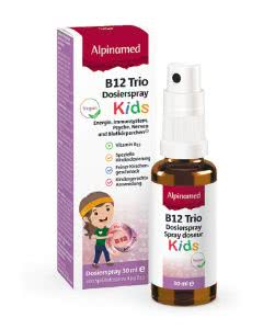 Alpinamed B12 Trio Vitamine KIDS Dosierspray 4μg - 30ml
