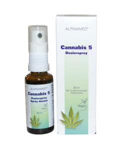 Alpinamed Cannabis 5 & Melisse - Dosierspray - 30ml