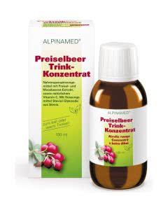Alpinamed Preiselbeer Trink-Konzentrat - 100ml