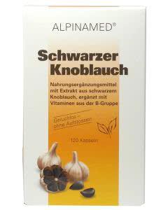Alpinamed Schwarzer Knoblauch - 120 Kapseln